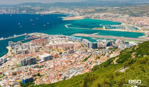 Il paradiso fiscale di Gibilterra, possedimento britannico in terra spagnola